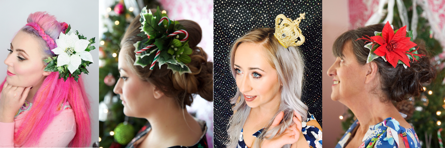Hair Accessories Perfect for Christmas!