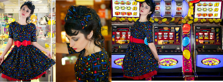 Retro Gamer Dresses are Back